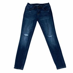 Vigoss Jagger Skinny Classic Fit Distressed Jeans